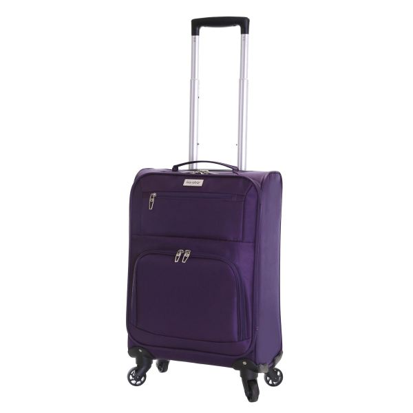 Set of 2 Ultra Lightweight 4 Wheeled Travel Luggage ...