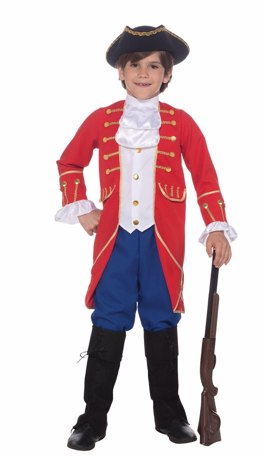 Founding Father George Washington Kids Boys Halloween