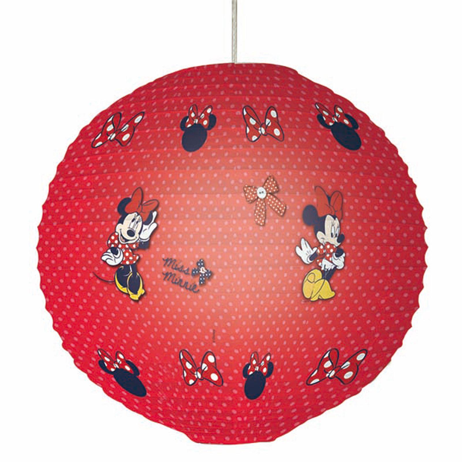 Minnie Mouse Papier Nuance Lampe Lanterne 100 Officielle