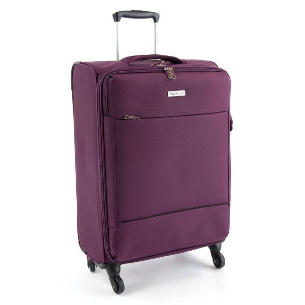 Highbury Suitcase / Luggage Lightweight 4 Wheel Trolley ...