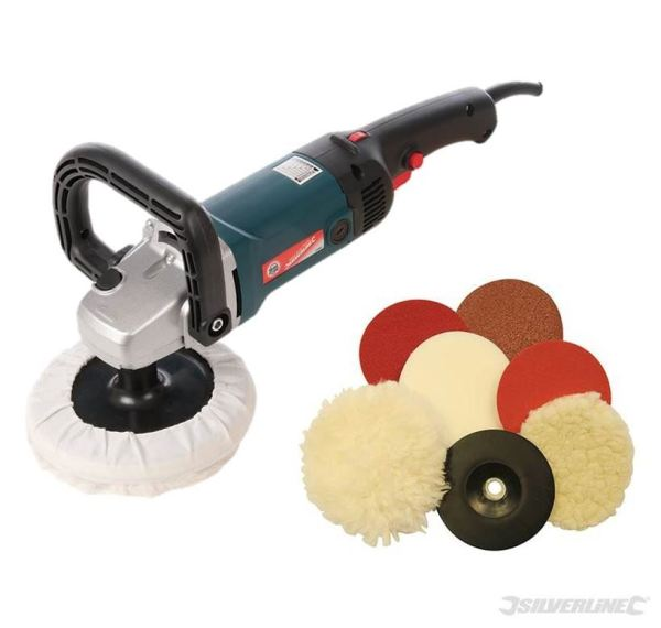 Silverline Sander Polisher Package Car Body Buffer ...