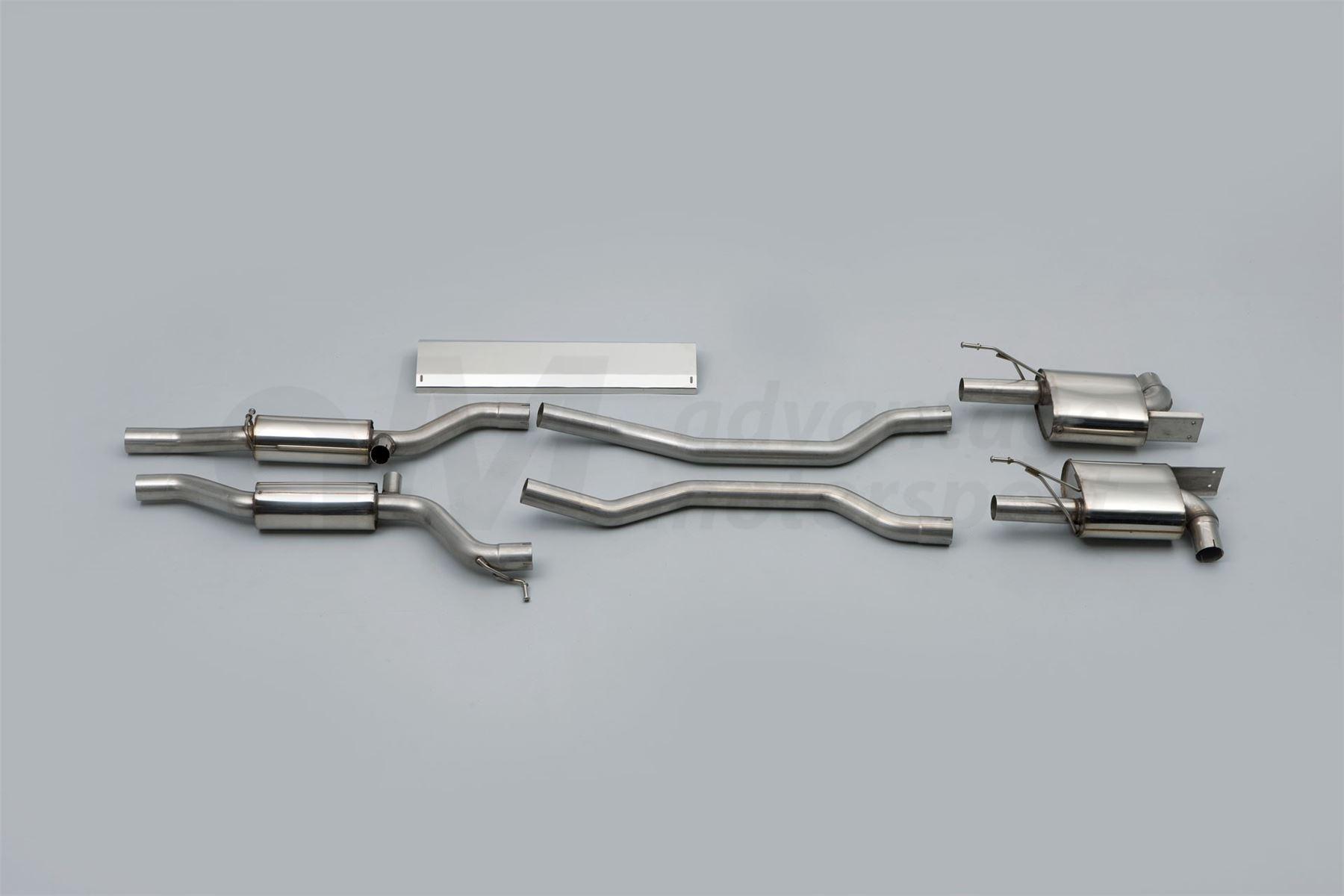 Milltek Porsche Cayenne 955 S 4 5 V8