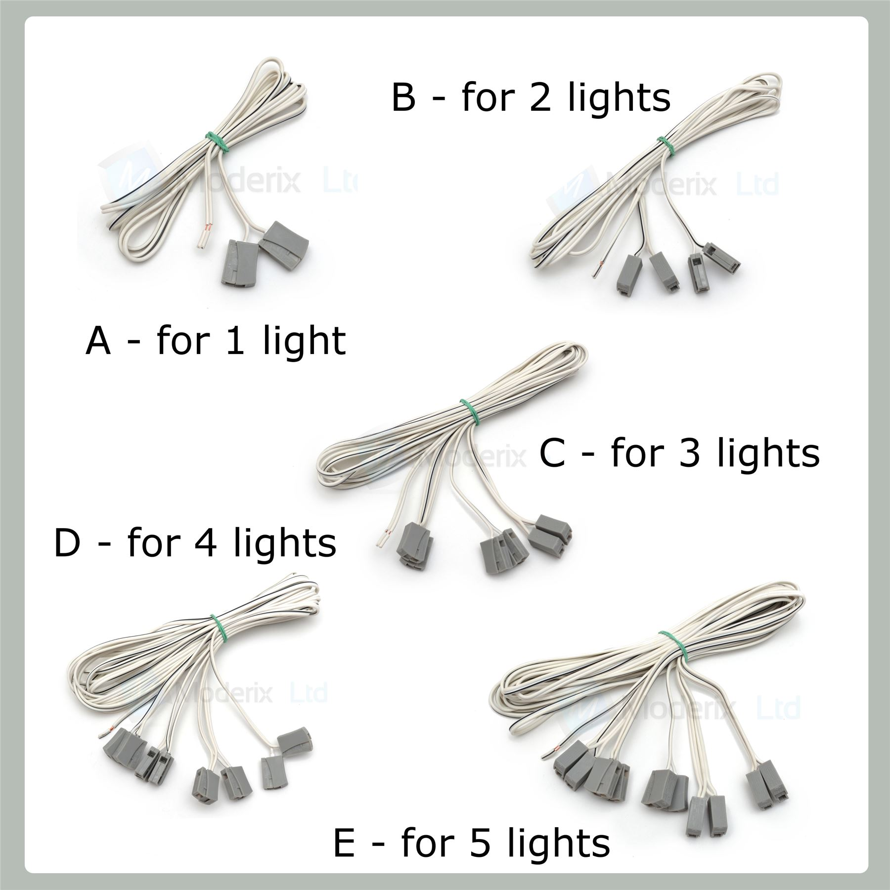 Universal Cable Extension Lead Wire For Any Led Lights 12v