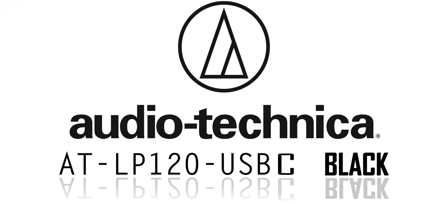 Audio Technica At Lp120usbc Usb Black Turntable Deck Vinyl