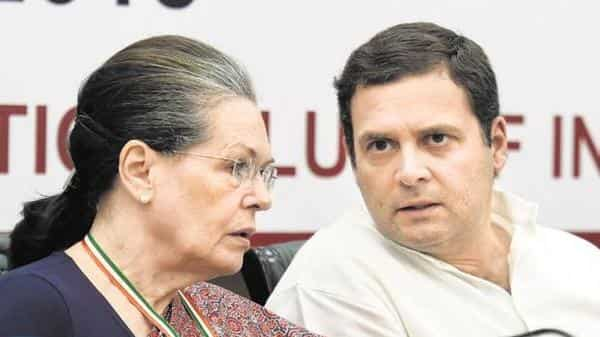 The first list, finalised at a meeting of the party's cental election committee chaired by Rahul Gandhi (PTI)