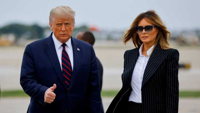Donald Trump, Melania to quarantine as they await covid test results