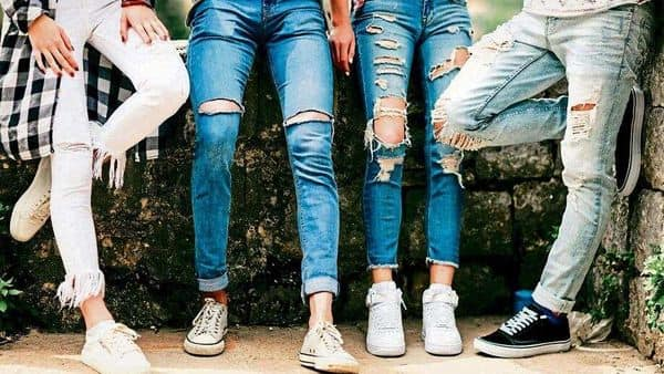 Sightings of ripped jeans are not a cause for alarm