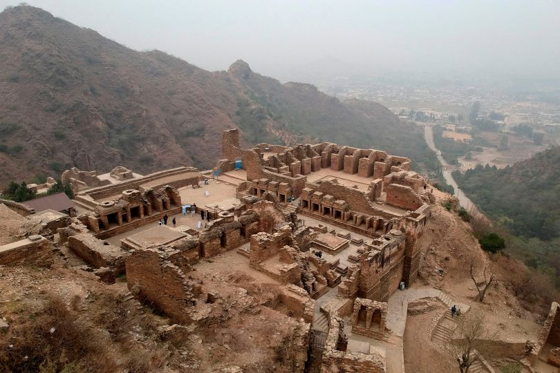 The ruins of Takht-i-Bahi in north-west Pakistan.