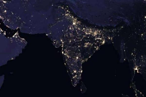 Here's how India looks from space at night, courtesy Nasa