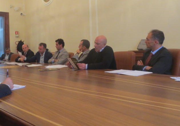 Nicola Sanna, Gavino Sini, Pierluigi Pinna, Francesco Meloni, Massimo Carpinelli, Mari Sechi