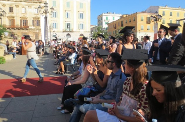 Laurea in piazza Uniss 1