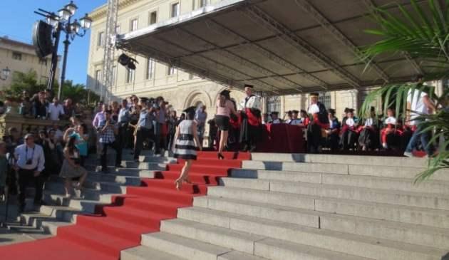 Laurea in piazza Uniss 2