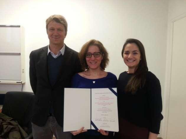 Team di ricerca dell'Università di Verona - Tinazi, Fiorio, Marotta