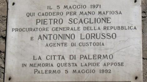 Palermo ricorda Scaglione e Lorusso