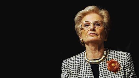 foto della senatrice a Vita Liliana Segre