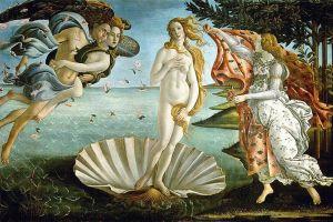 Nascita di Venere Galleria degli Uffizi di Firenze