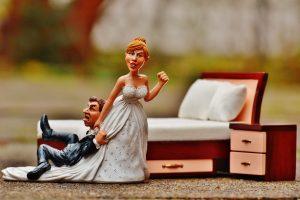 cake design matrimonio sposo e sposa