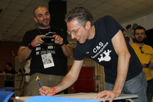 Leo Ortolani con Don Alemanno