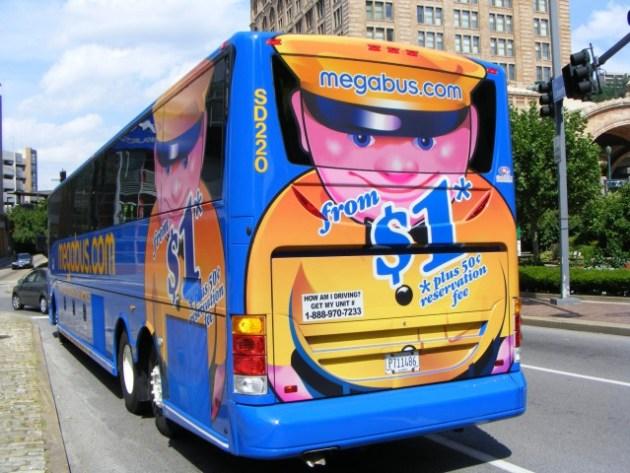 SD220 2 Megabus Van Hool C2045E