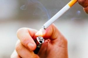 fumare sigaretta