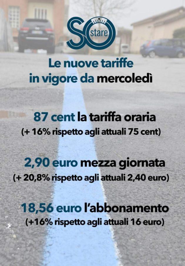 sostare tariffe