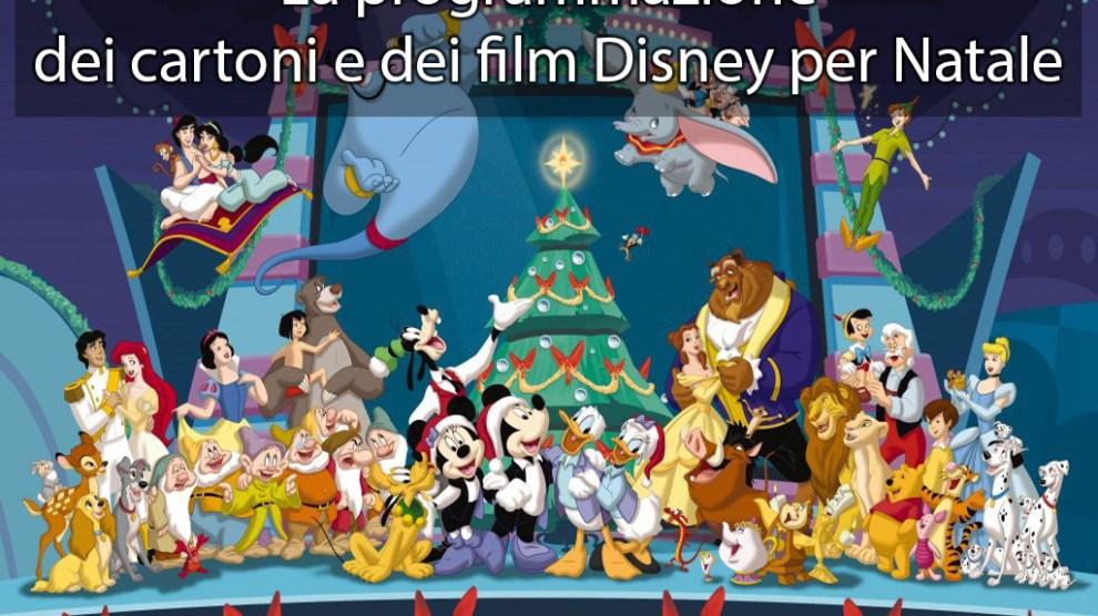Natale la programmazione tv dei cartoni e film