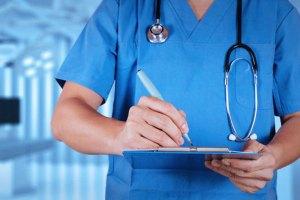 infermiere a lavoro