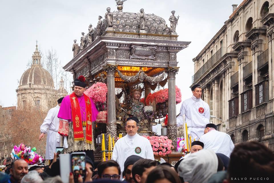 Catania, saltano i festeggiamenti estivi di Sant'Agata: la decisione del comitato