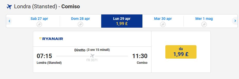 finest selection 30a60 f9821 Ryanair shock: da Londra in Sicilia con circa 2 euro – Liveunict