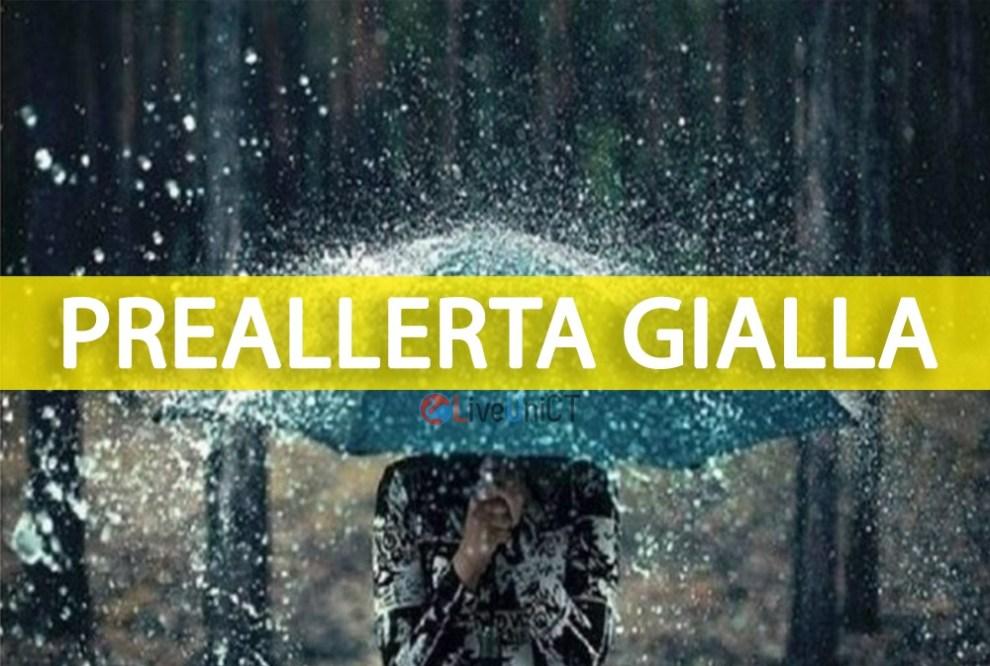 meteo Sicilia allerta gialla