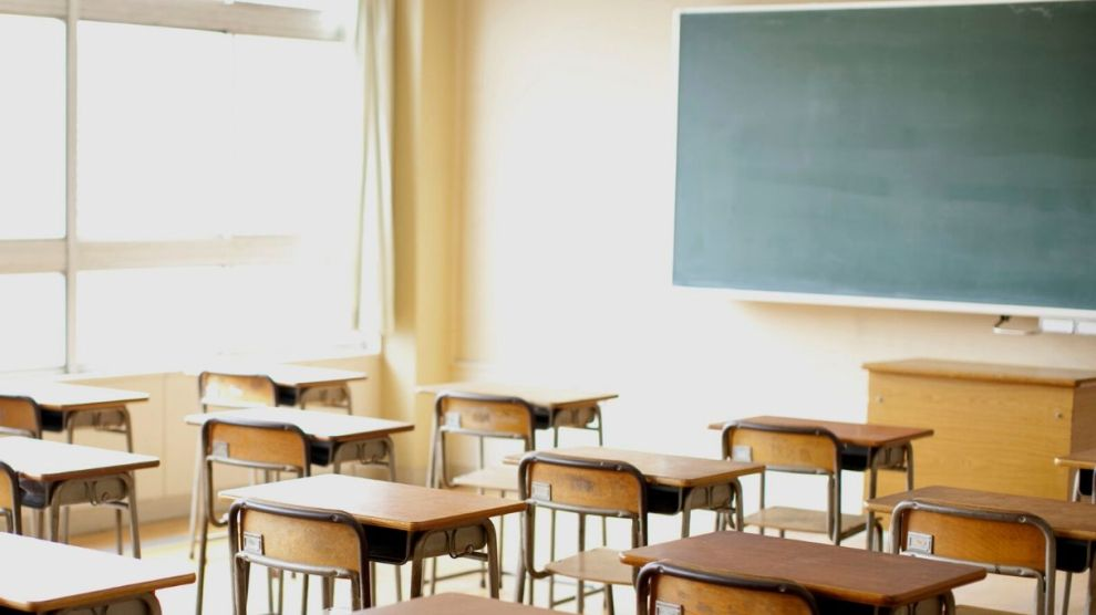 aula vuota scuola