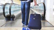 Studente con valigia