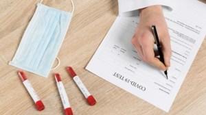 Coronavirus test tampone