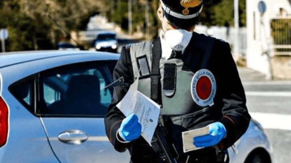 catania-carabinieri-posto-di-blocco