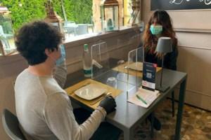 ristorante distanziamento sociale