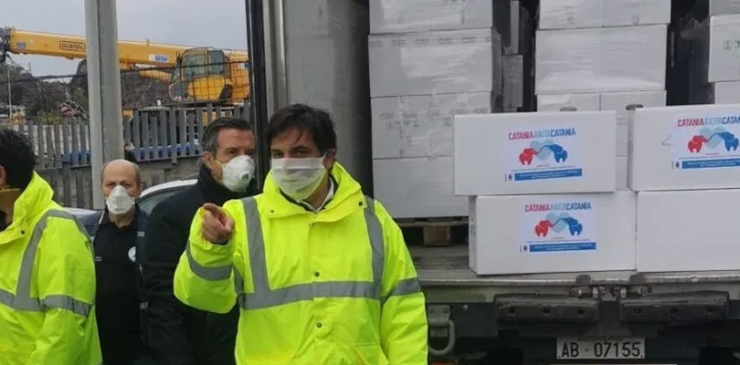 A Catania si consegnano pacchi spesa: 2000 le domande inviate