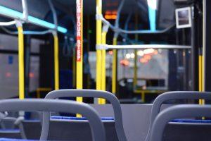 interno bus urbano