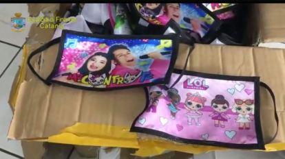 Mascherine per bambini contraffatte
