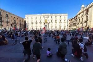 Catania manifestazione black lives matter