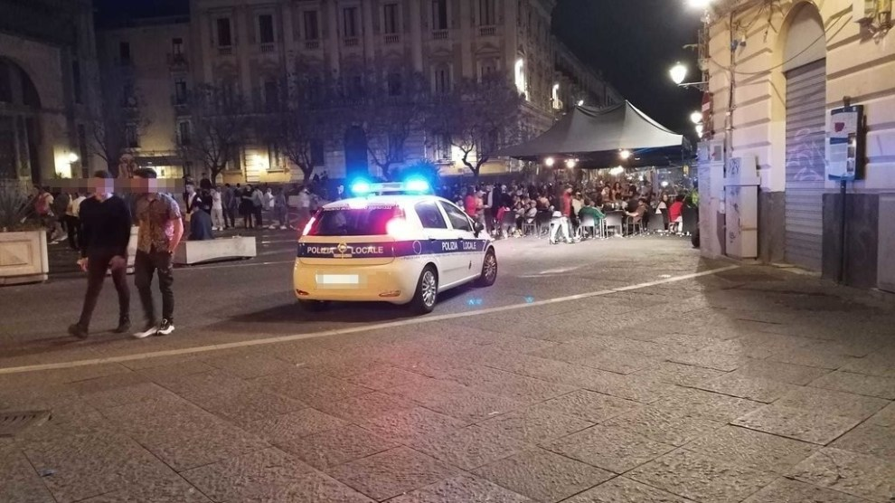 Piazza Teatro Massimo Catania