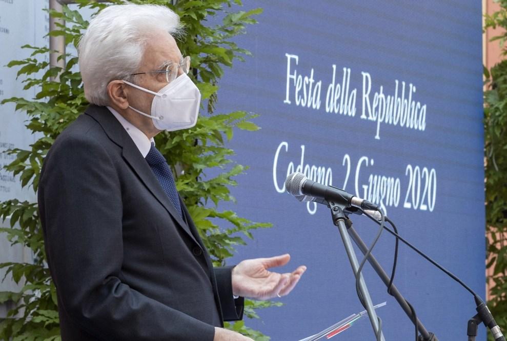 Sergio Mattarella a Codogno il 2 giugno