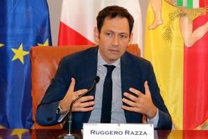 Ruggero Razza, assessore alla Salute della Regione Siciliana