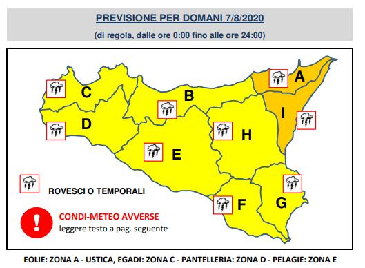 meteo sicilia catania