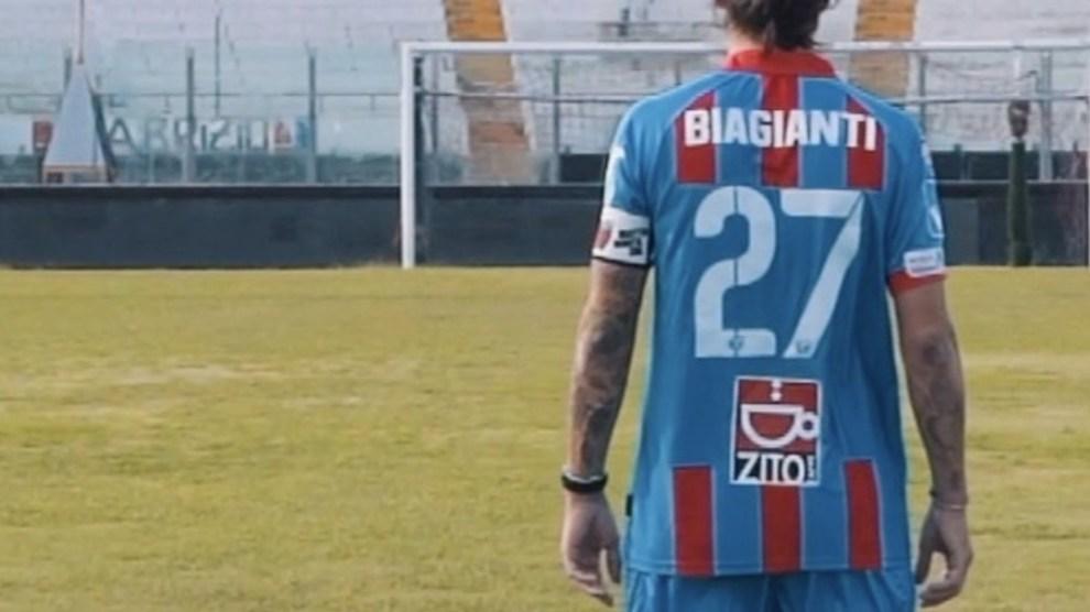 Marco Biagianti capitano Calcio Catania