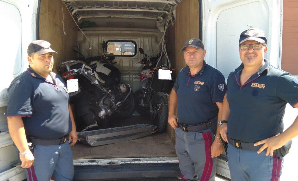 moto polizia stradale