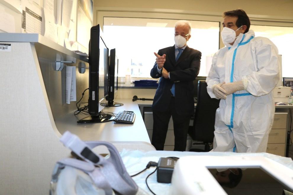 Teleassistenza all'ospedale Cannizzaro