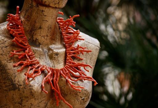 corallo rosso collana