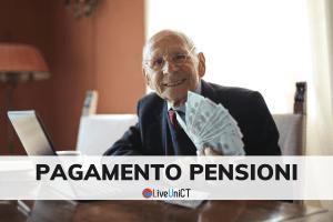 Pagamento pensioni maggio 2021