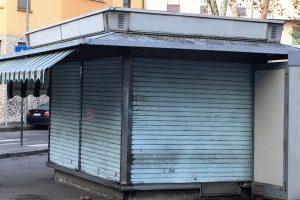Edicole dismesse a Catania