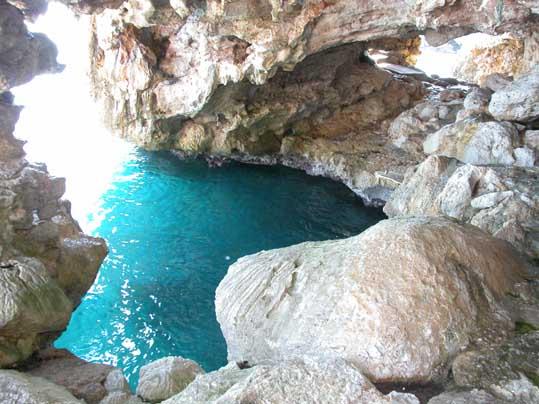 Grotta del Bagno della Regina.